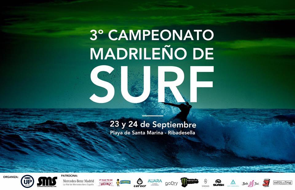 3º Campeonato madrileño de Surf