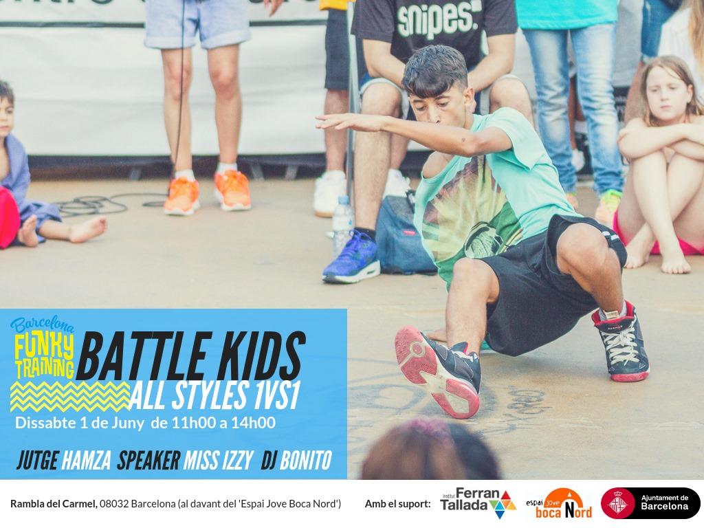BFT organiza Battle KIDS