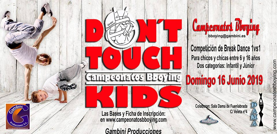 DON´T TOUCH KIDS 2019