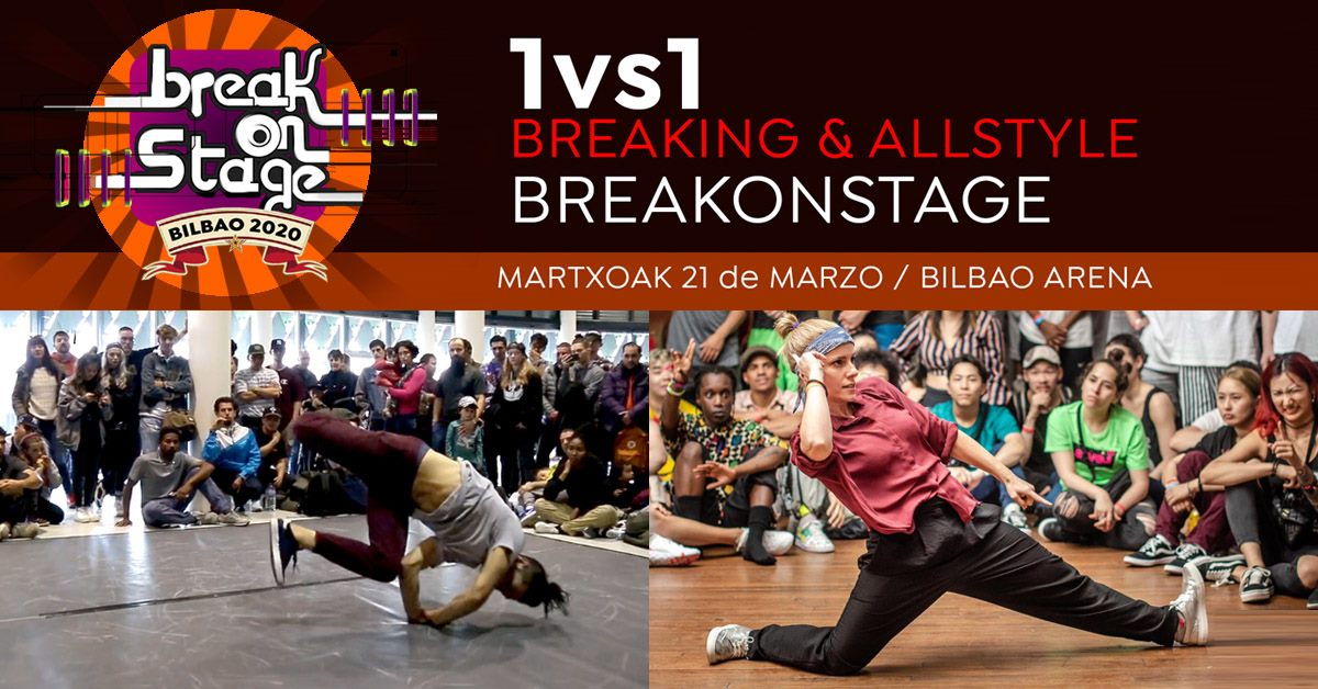 1vs1 BreakOnStage All Style & Breaking