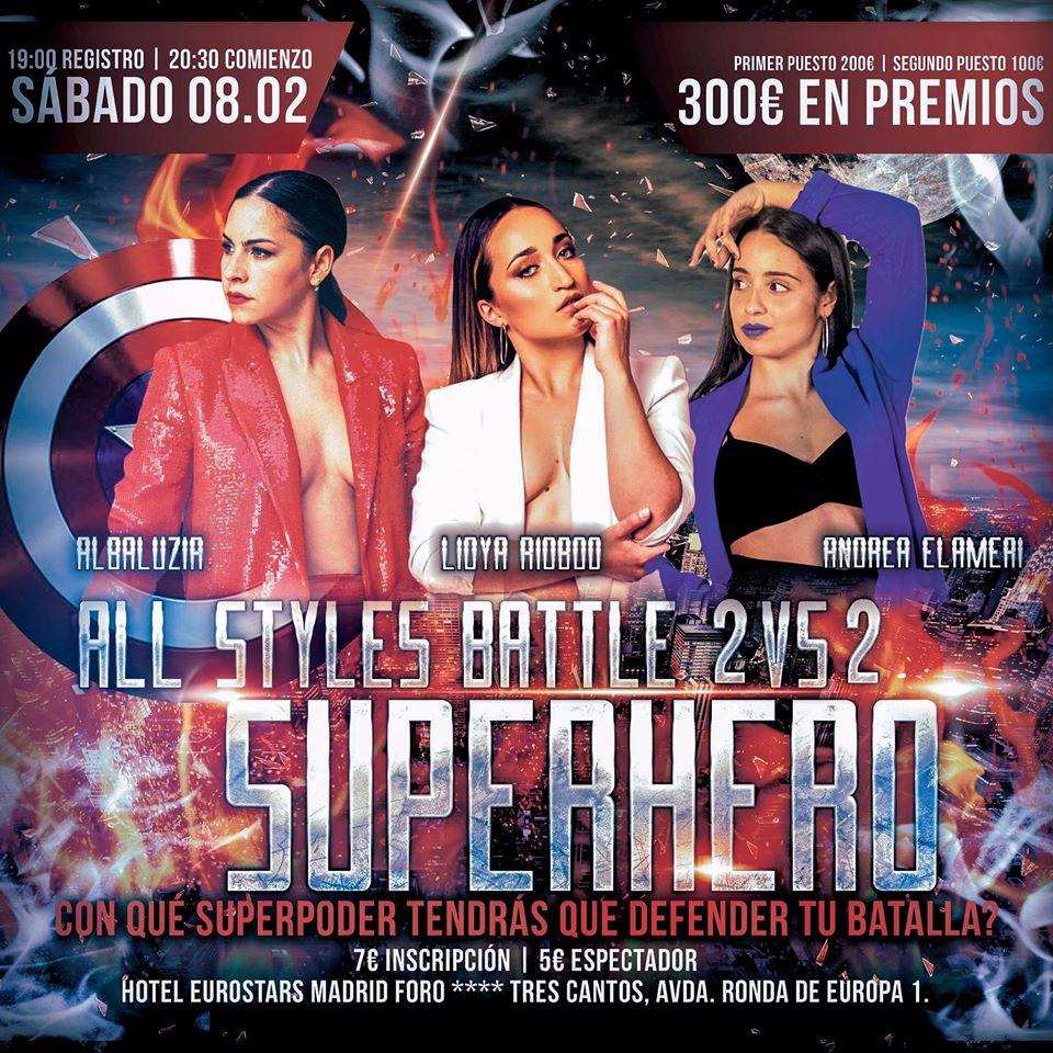 ITC20 – All Styles 2vs2 Superhero