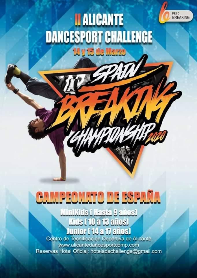 Spain Breaking Championship 2020