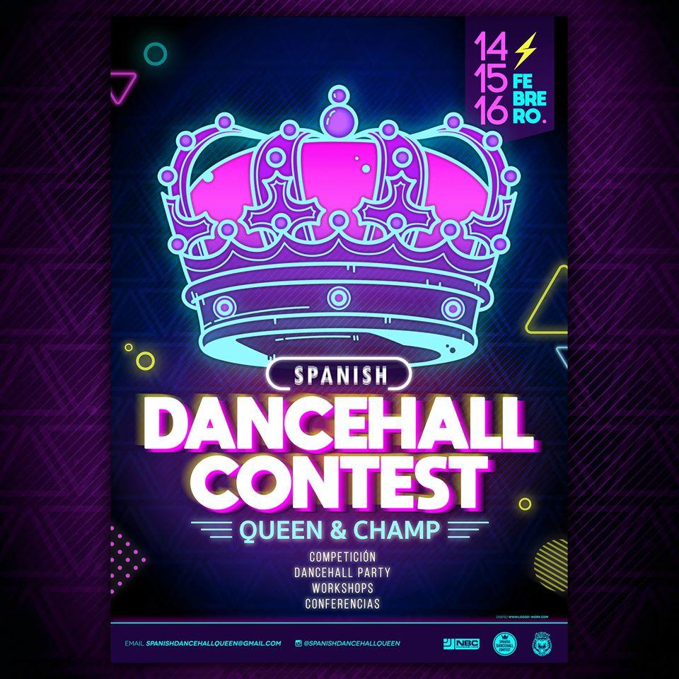 Spanish Dancehall Queen Contest
