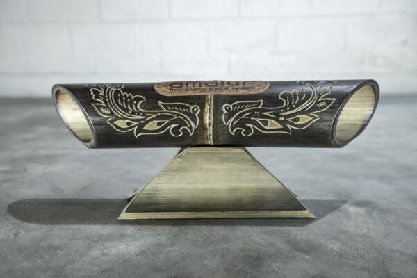 Altavoz de bambú Amalur-modelo tallado JAVANES